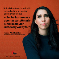 valokuva puheejohtaja Hanna-Marilla Zidanista