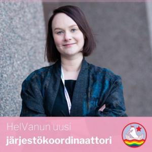 Uusi järjestökoordinaattori Elina Matilainen