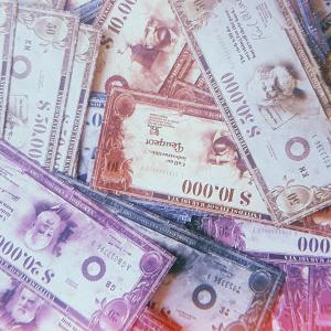 Valokuva Panic on Wall Street -pelin rahasta