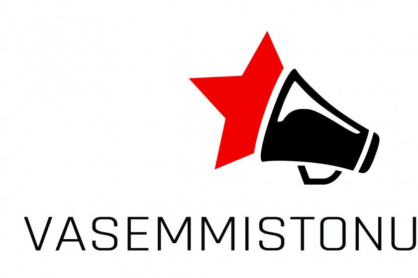 Vasemmistonuorten logo