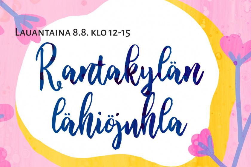 Rantakylän Lähiöjuhla järjestetään lauantaina 8.8