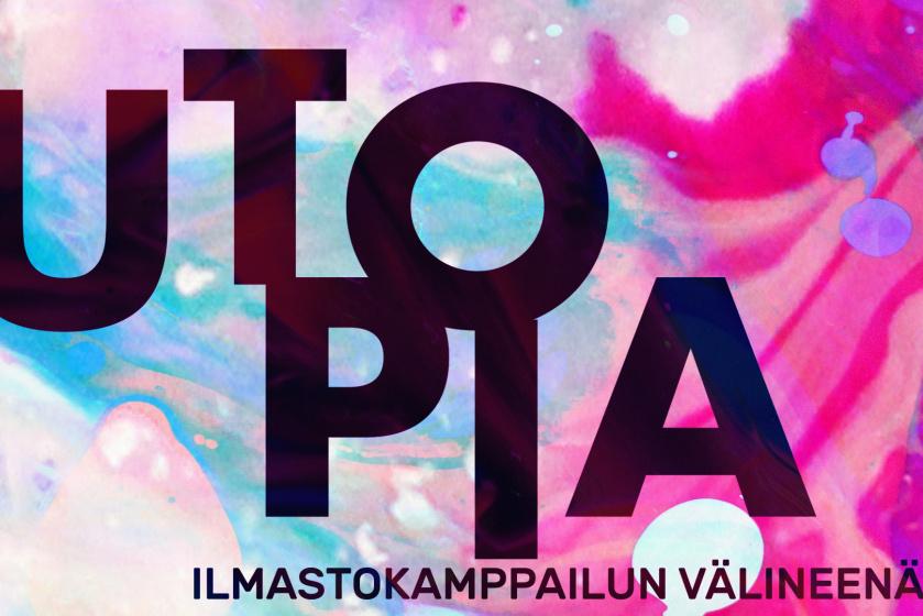Utopiatutkija Keijo Lakkala johdattelee pohtimaan utopioita ilmastokamppailun välineenä avoimessa keskustelutilaisuudessa.